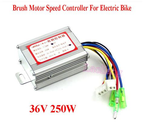 36v 250w brush motor speed controller for electric bike e bike bicycle scooter ebay