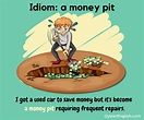 Idiom: Money pit (meaning & examples)