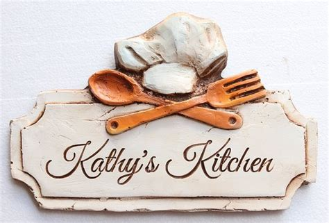 personalized kitchen accessories kitchen decor personalized sign 1471