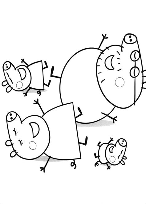 Coloring Peppa Pig by Peppa Pig Para Colorear Best Coloring Pages For