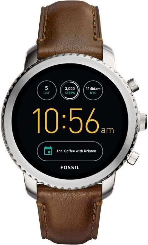 fossil   explorist ftw smartwatch android wear