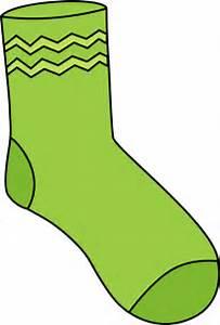 Pink Socks Clipart