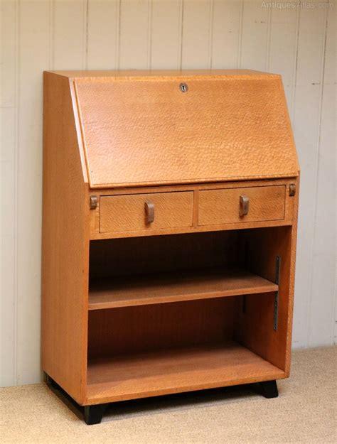 bureau deco australian silky oak deco bureau antiques atlas