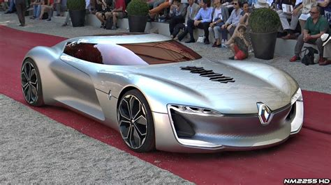 Renault Concept by All Electric Renault Trezor Concept Driving Overview