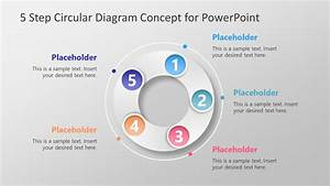 5 Step Circular Diagram Concept For Powerpoint