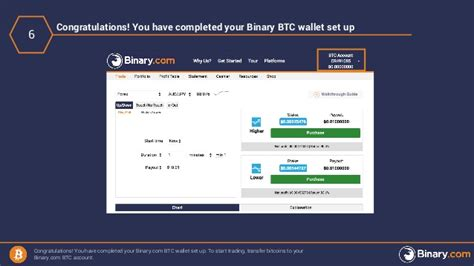 Bitcoin Account Sign Up by How To Sign Up For A Binary Bitcoin Account