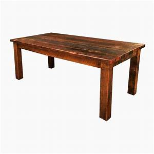 buy a hand crafted antique reclaimed wood farmhouse dining With dining tables made from reclaimed wood