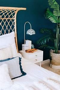 Mur Bleu Pétrole : d co bleu canard bleu paon ou bleu p trole ~ Melissatoandfro.com Idées de Décoration