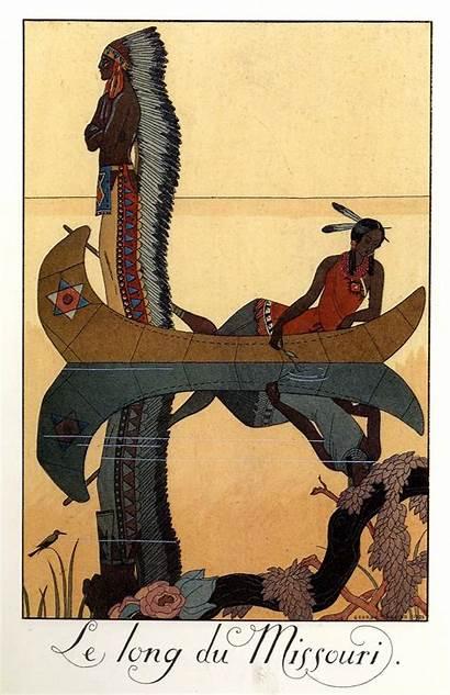 Barbier George Georges Illustrations Illustration Fulltable Indian