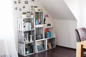 Weinkisten Regal Bauen : 11x weinkisten upcyceln die ~ Markanthonyermac.com Haus und Dekorationen