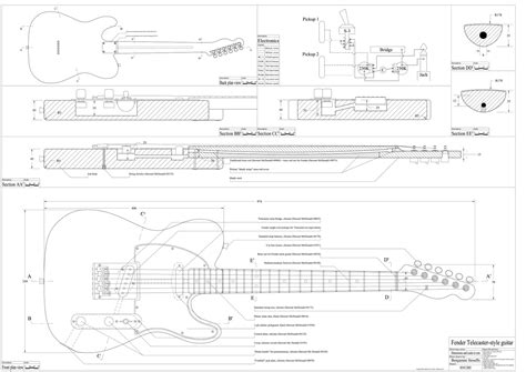 telecaster template building a left handed telecaster dave mac s window on the world