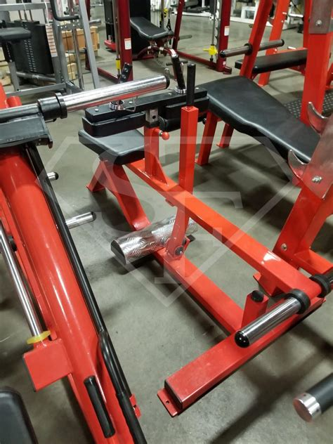 piece   plate loaded gym package super fitness    gym equipment