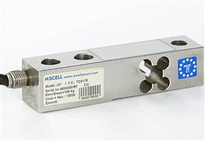 Buy Load Cell Shear Beam 100 Kg  Stainless Steel  Ip68