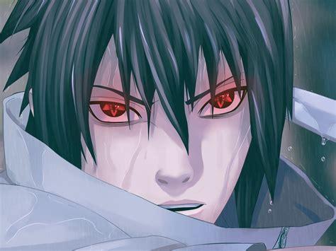 Rain Uchiha Sasuke Naruto Shippuden Sharingan Anime Anime