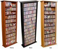 "dvd storage racks 754 CD 312 DVD 76"" Tall Tower CD DVD Storage Rack NEW | eBay"