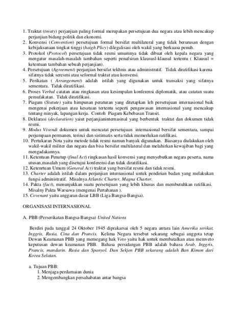 Hubungan internasional dan organisasi internasional kelas xi