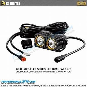 Kc Hilites Flex Series Dual Led Spread Beam   272