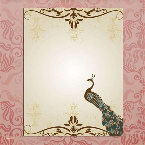 fresh wedding invitation background designs