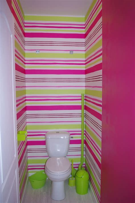 mes wc en vert anis et fushia tapisserie finie page 2
