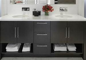 meuble de salle de bain avec double vasque carrelage With salle de bain design avec meuble de salle bain castorama