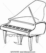 Harpsichord Coloring Results sketch template