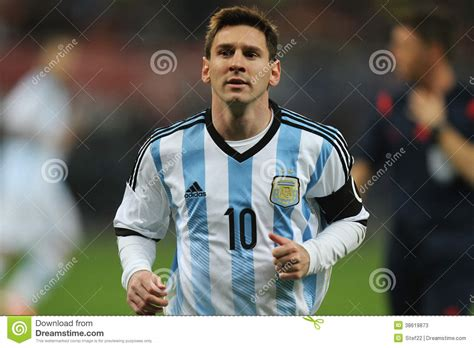 lionel messi editorial stock photo image