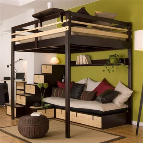 Ikea Hochbett 140x200 Metall hochbett f 220 r erwachsene 140x200 f 252 r 2 personen ein