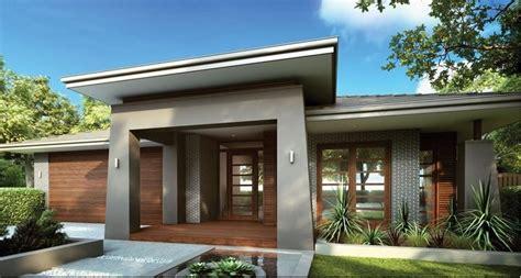 narrow house plans with garage single storey facade house facades