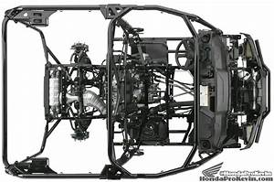 2016 Honda Pioneer 1000  Frame    Suspension