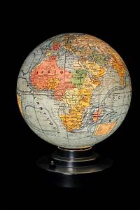 Globe En Verre : ancien globe lumineux en verre vers 1930 old school bazaar ~ Teatrodelosmanantiales.com Idées de Décoration