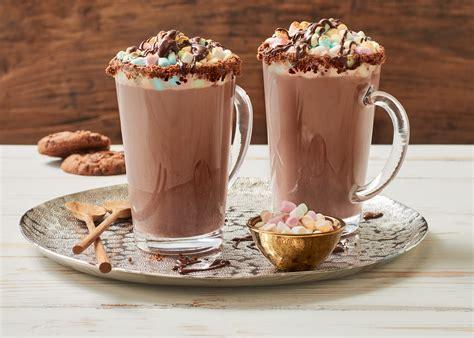 heisser kakao mit mini marshmallows gratiniert weihenstephan