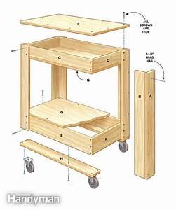 Rolling Tool Box Cart Plans The Family Handyman