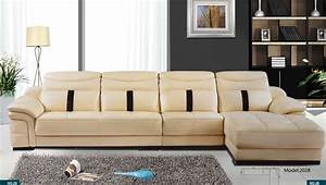 Free shipping home sofa latest modern leather sectional for Sectional sofa delivery