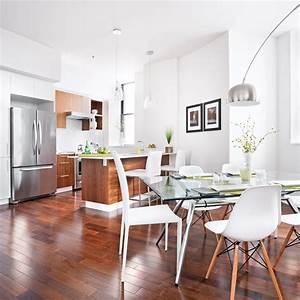 Aire ouverte cohabitation parfaite cuisine for Deco cuisine avec armoire salle a manger
