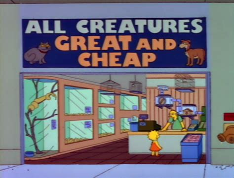 all creatures great and cheap simpsons wiki fandom