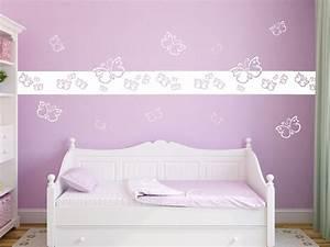 Wandtattoo Kinderzimmer Schmetterlinge : wandtattoo bord re schmetterlinge f r m dchen ~ Sanjose-hotels-ca.com Haus und Dekorationen