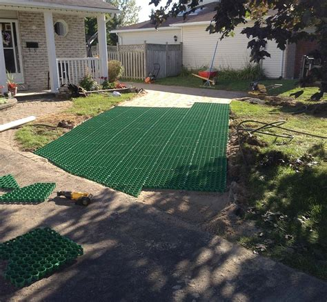 Tile Tech Pavers Canada by Gd Grass Technical Specifications Green Driveway