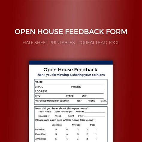 broker open house feedback form the 25 best real estate forms ideas on pinterest real
