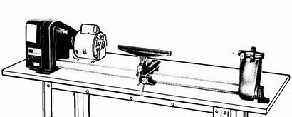 Lathe Wood Craftsman 113 Manual Parts Lathes