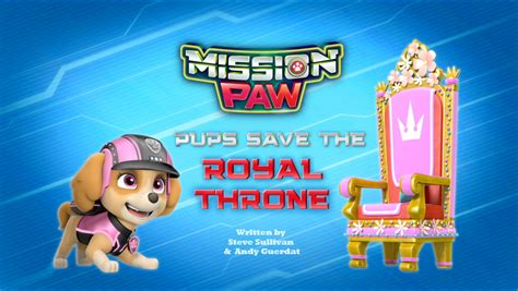 Paw Patrol Boat Game by Mission Paw Pups Save The Royal Throne Paw Patrol Wiki