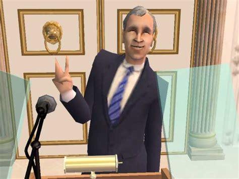 mod  sims george  bush american president