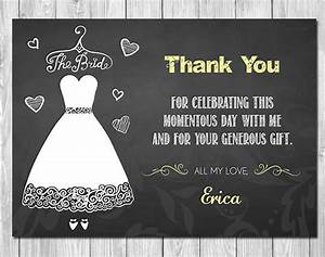 105 thank you cards free printable psd eps word pdf With wedding shower thank you