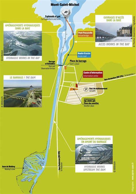 Carte Touristique Baie Du Mont Michel by Le Mont Michel Un D 233 Veloppement Touristique