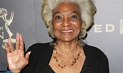 Nichelle Nichols in her role as communications officer Lt ...