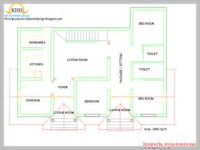 one floor home plans single floor house plan and elevation 1400 sq ft home appliance