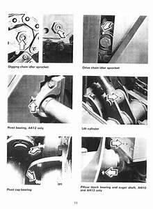 Ditch Witch A400 Digging Attachment Operators Parts Manual