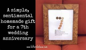 a simple gift idea for your 7th wedding anniversary what With 7th wedding anniversary gifts for him