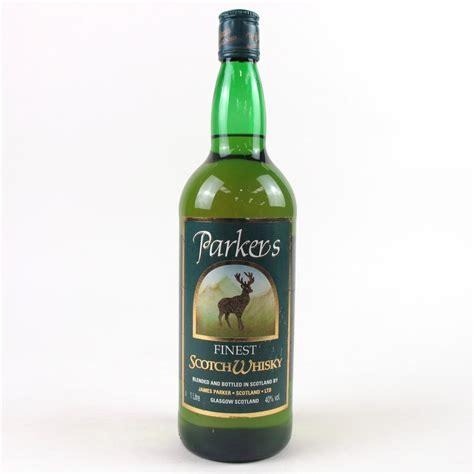 Parkers Finest Scotch Whisky 1 Litre | Whisky Auctioneer