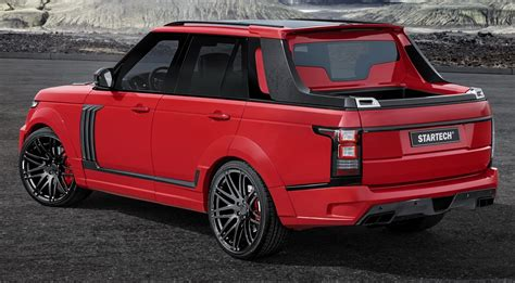 land rover pickup truck startech introduces range rover based pick up truck