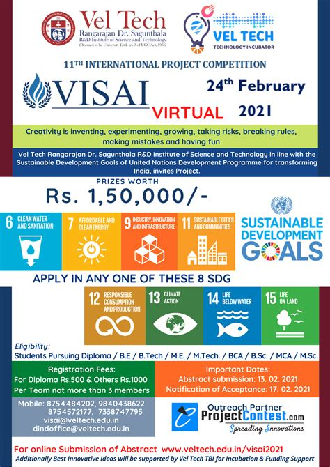 VISAI 2021 International Project competition